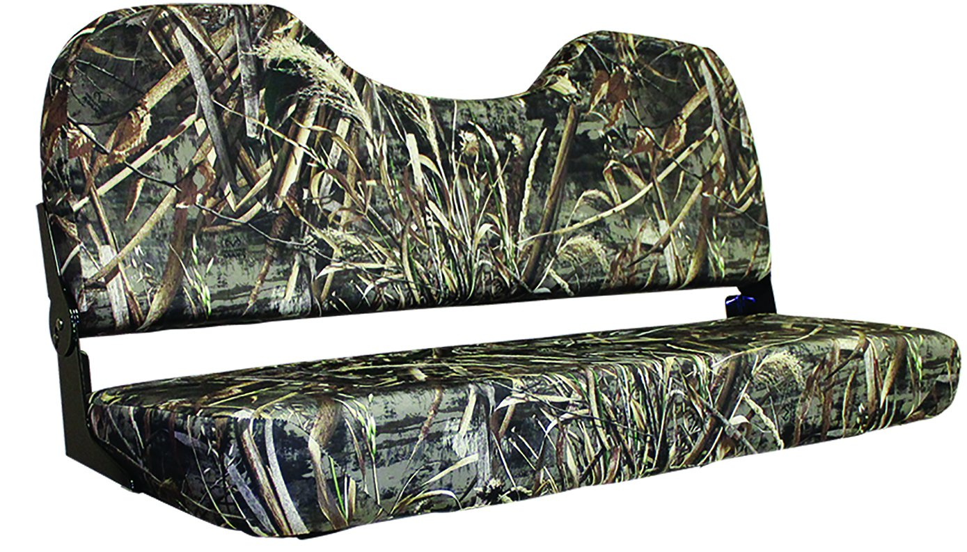 Wise WD308-733 Fold Down Bench Seat, Realtree Max 5 Camo, (Cordura) 48-Inch by Wise (Image #1)