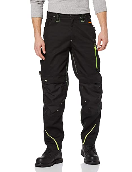 where to buy cozy fresh professional sale Engelbert Strauss es Motion 2020 Trousers Black/Yellow