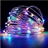 Multicolor String Lights 16.4FT 50 LED Light Copper Wire Fairy String Lights Indoor Festival Wedding Thanksgiving Decoration Lights