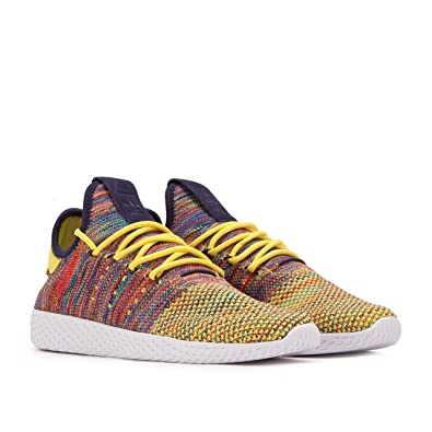 adidas PW Tennis hu Mens In Nobink/White/Multi by, 5