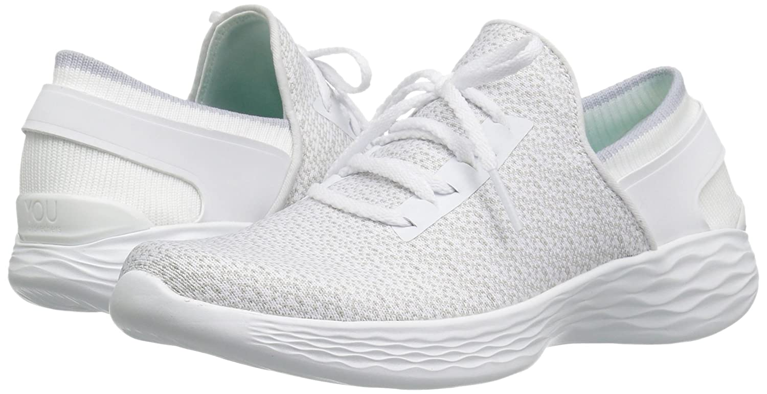 Skechers You-Inspire, Sneaker Sneaker Sneaker Infilare Donna Bianco (White) 81af96