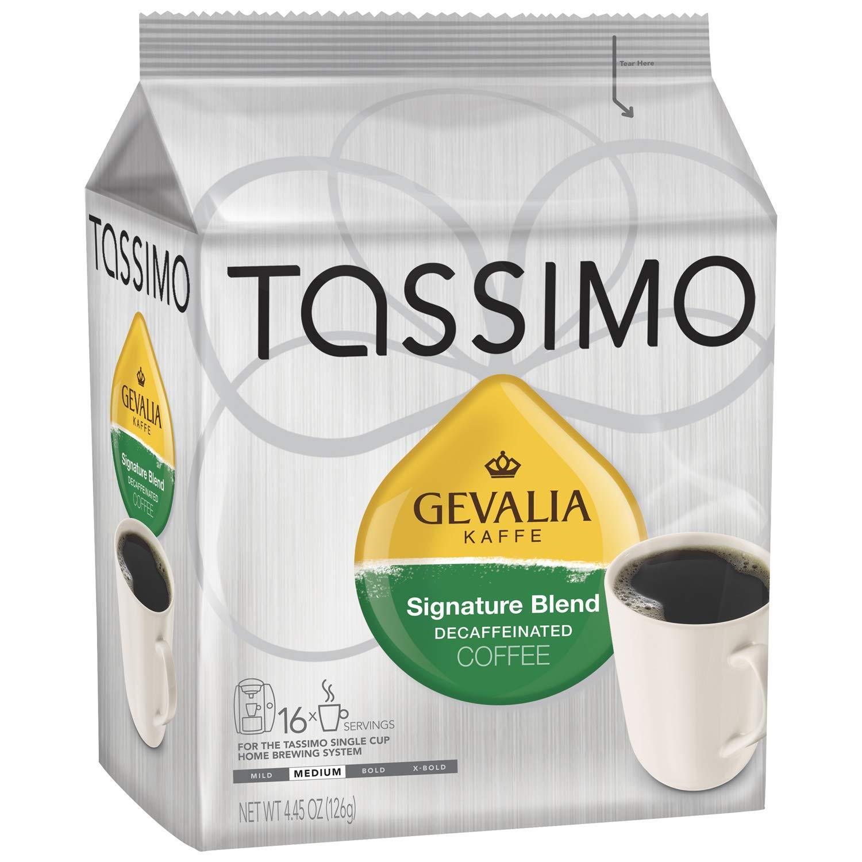 Tassimo Gevalia Signature Roast Decaf Coffee T Discs (16 Count)