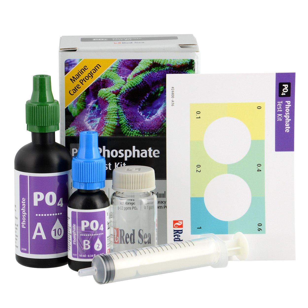 Red Sea MCP Phosphate (PO4) Test Kit Saltwater Aquariums