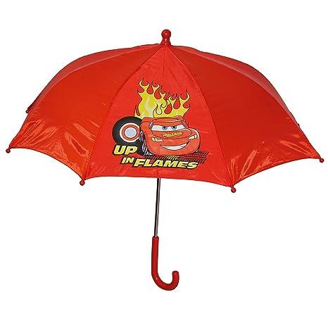 Disney Cars pantalla – Niños Pantalla Niños Stock pantalla paraguas rojo Auto Lightning Mcqueen – Niños