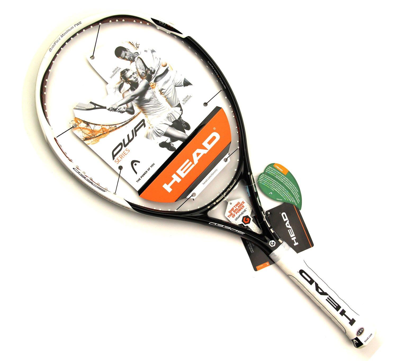 Head YouTek Graphene PWR Speed UNSTRUNG Tennis Racquet - Black/White/Copper