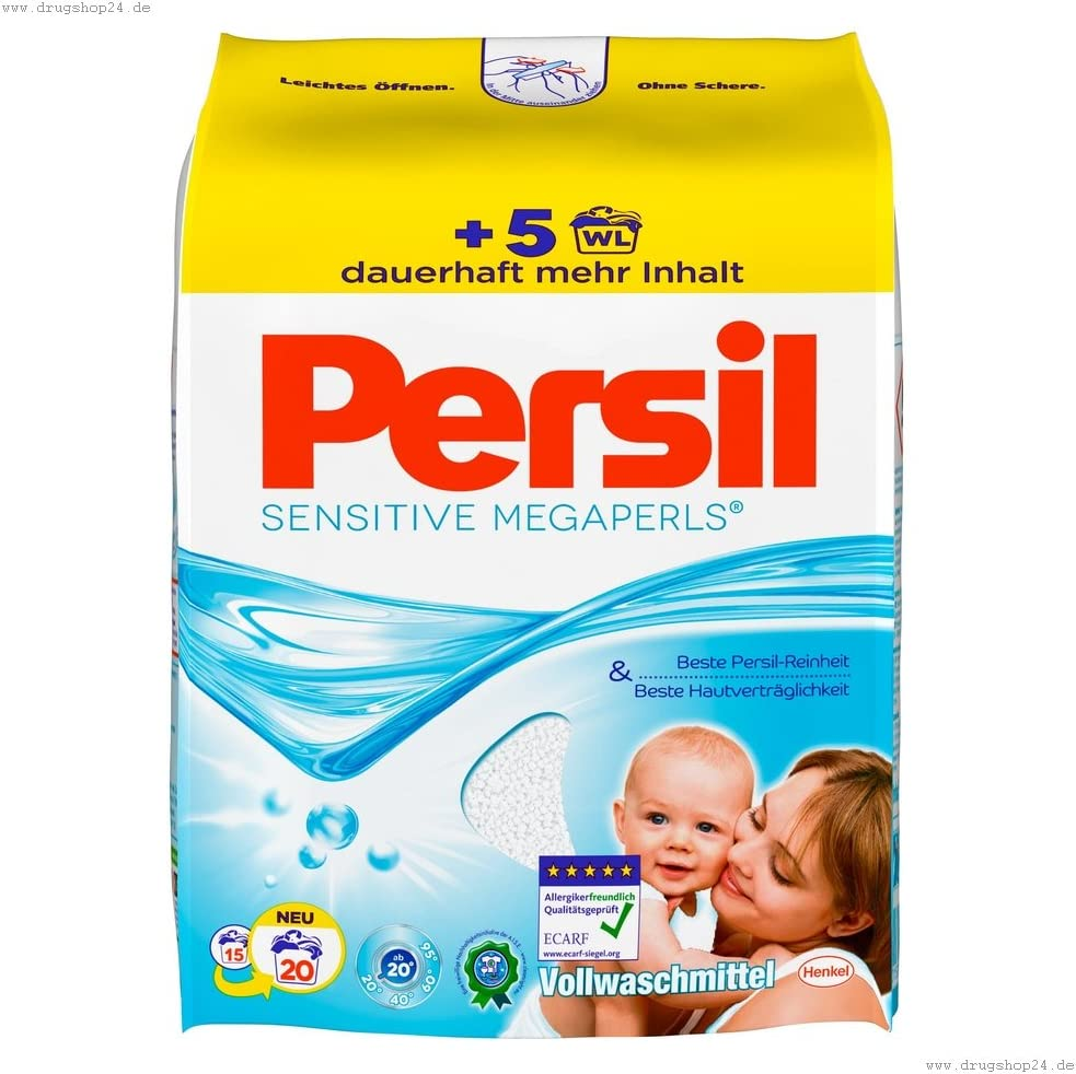 Persil Megaperls Sensitive 18WL /1.33 Kg