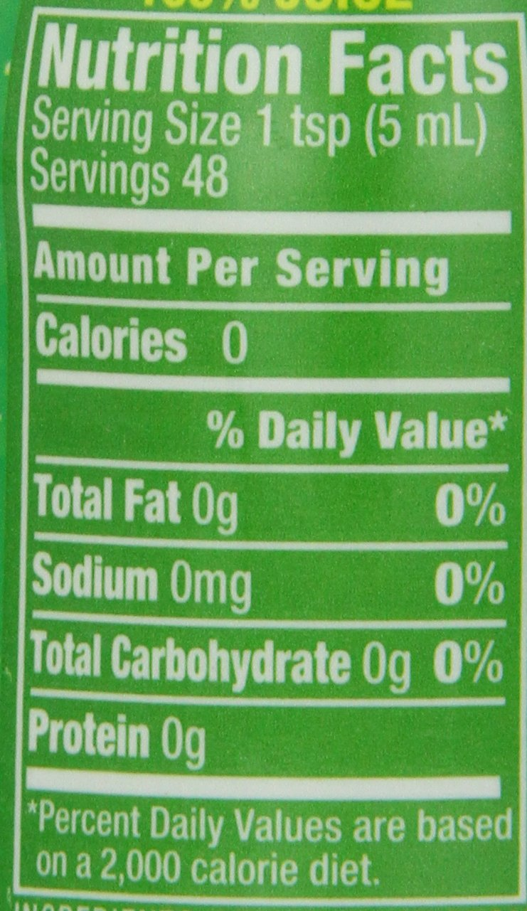 ReaLemon 100% Lemon Juice, 8 Fluid Ounce Bottle 2 One 8 fluid ounce bottle 100% lemon juice from concentrate Great for use in recipes and beverages