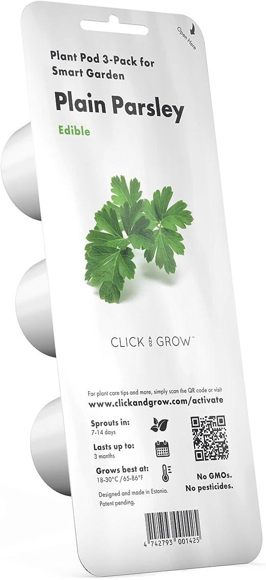 Emsa 3 Cápsulas Perejil Click & Grow, Semillas apta para Smart ...