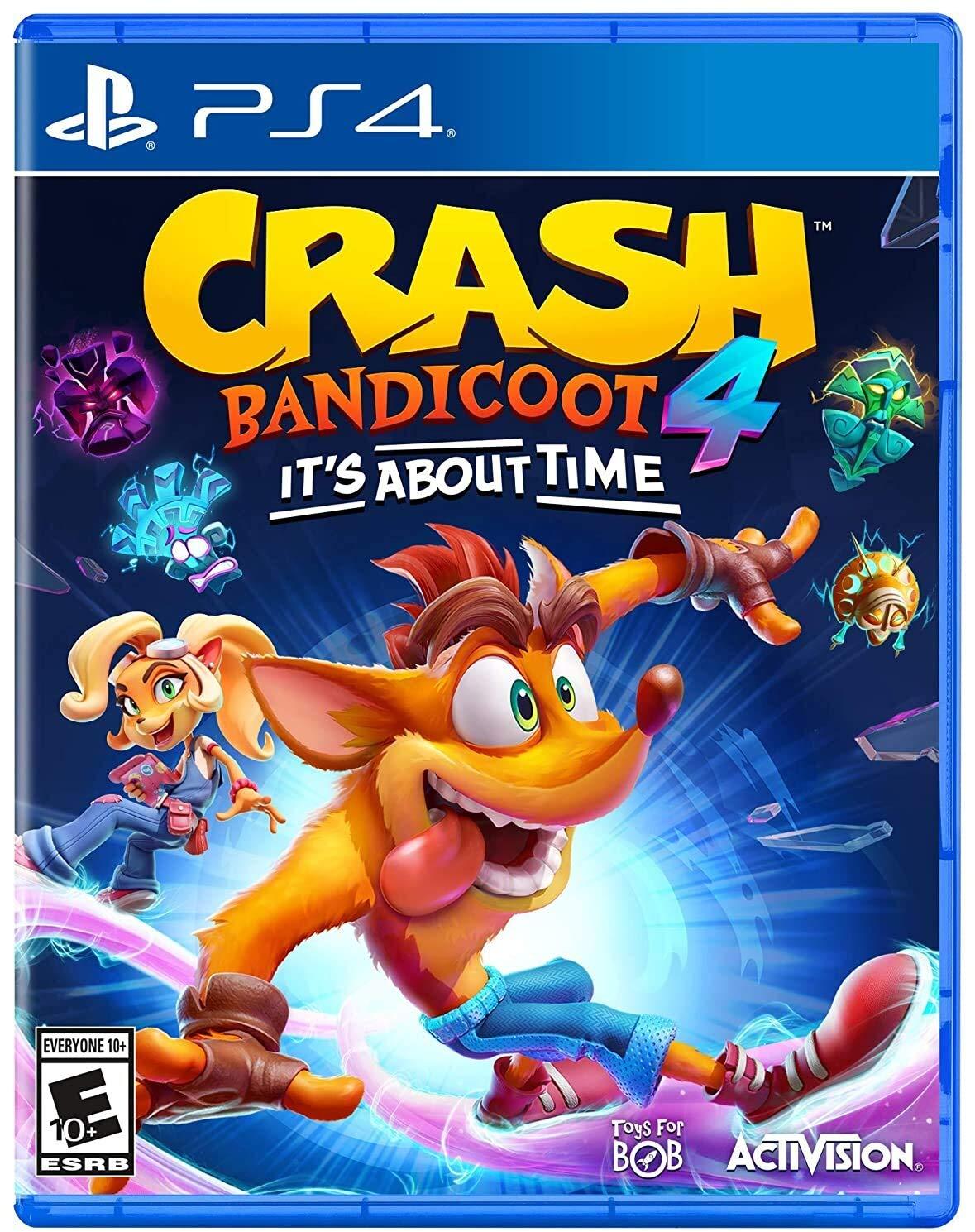 Amazon.com: Crash 4: It's About Time: Activision Inc, Activision: Video  Games