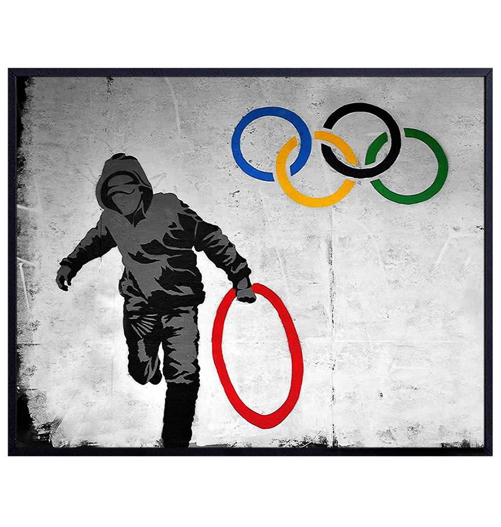 Do Not Disturb Banksy Street photo imprimé sur encadrée Toile Wall Art Home
