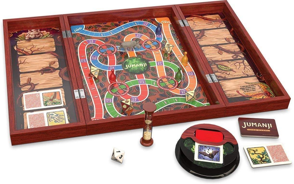 Spin Master Copia de madera maciza del juego jumanji (versión ...