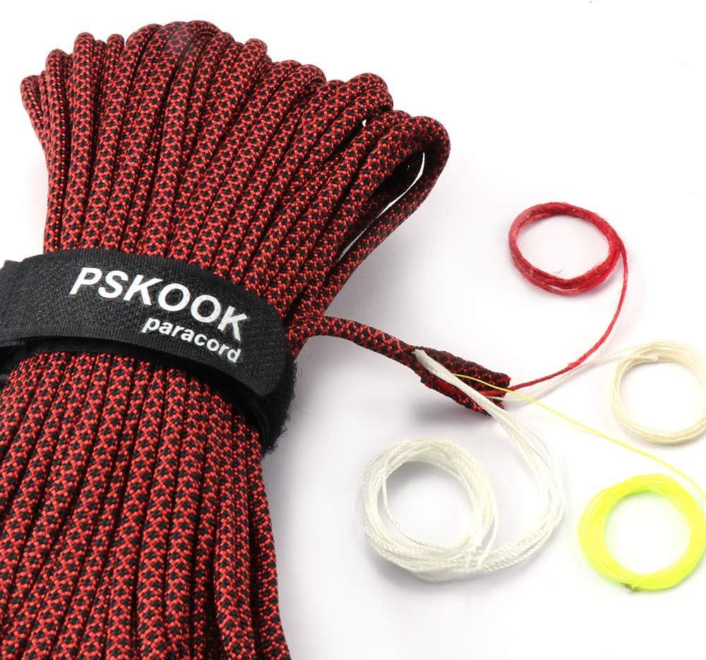 Paracord Bracelet survival-corde tressés de indéchirable paracord Cord Marron