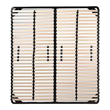i-flair Somier/Listones 160x200 cm, marcos de cama - para todos los colchones adecuados: Amazon.es: Hogar