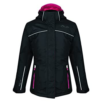 Dare 2b Girl s Epitomise Skiing Jacket Black 3 - 4 Years dafc86ece