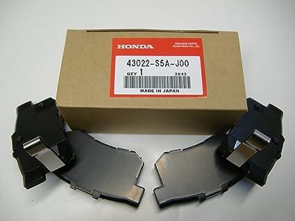 Honda Genuine OEM Rear Brake Pads, 43022 S5A J00; 2007 To 2011