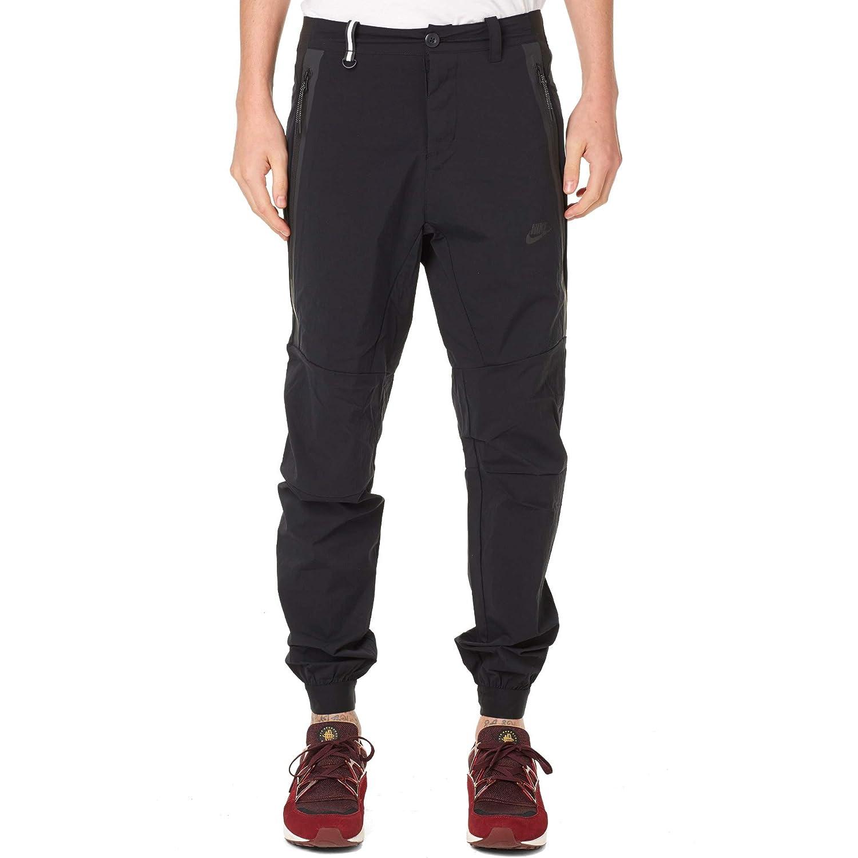 Schwarz 34 Nike Sportswear Tech Woven T2 Hose
