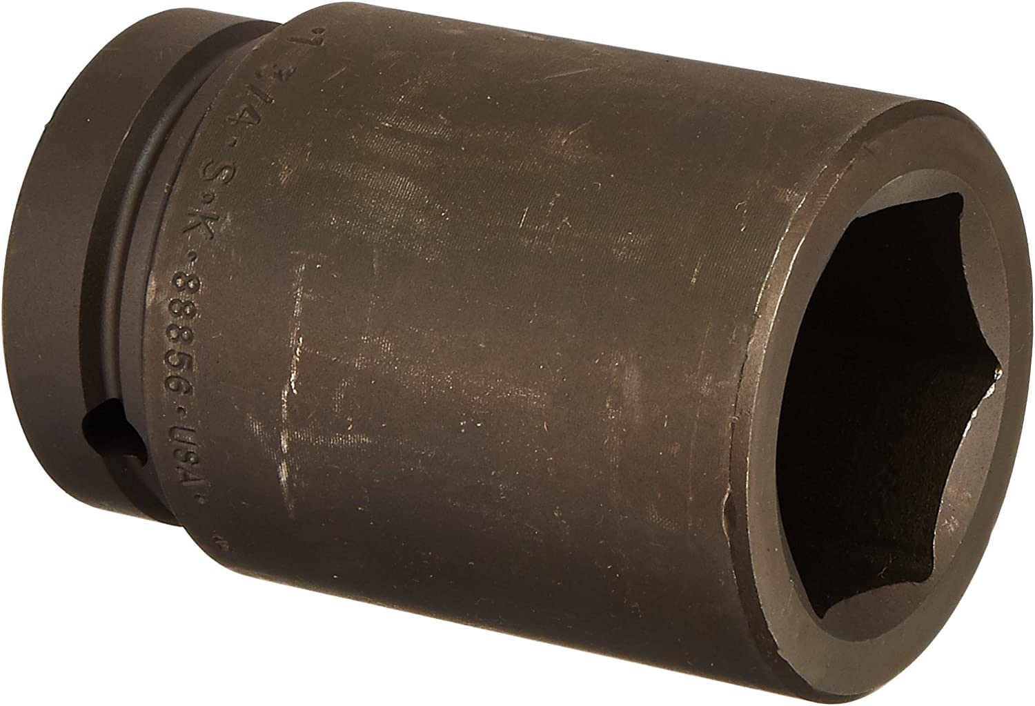 SK Hand Tool 88872 6-Point 1-Inch Drive Deep Impact Socket 2-1//4-Inch