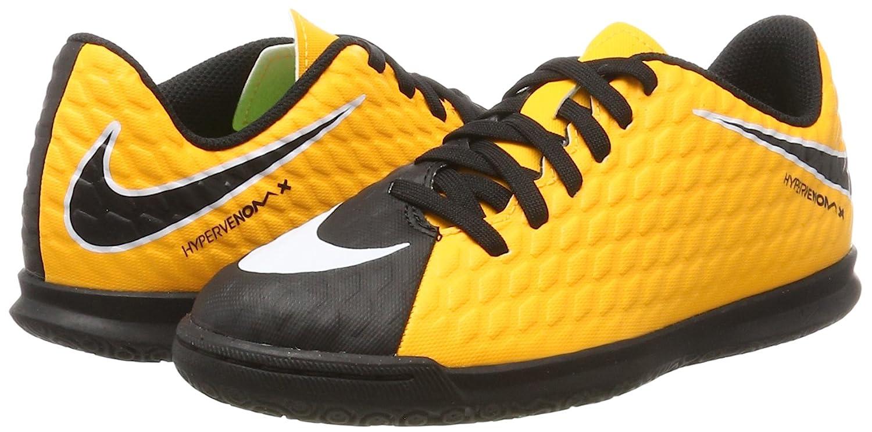 Amazon.com: Nike Kids Hypervenom Phade III IC Soccer Little Kid/Big Kid Laser Orange/Black/Black/Volt Kids Shoes: Shoes
