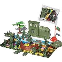 YeahiBaby Soldado de plástico Militar Modelo Toy Army