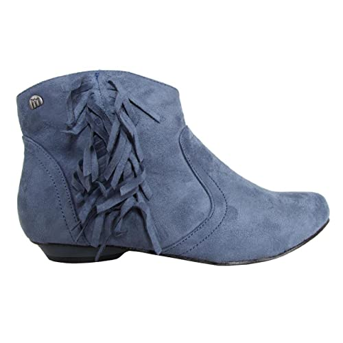 MTNG Botines de Mujer 54900 Ante W12 Dark Jeans Talla 36: Amazon.es: Zapatos y complementos