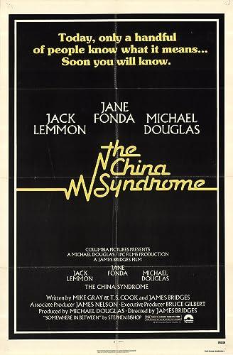 The China syndrome Jane Fonda vintage movie poster
