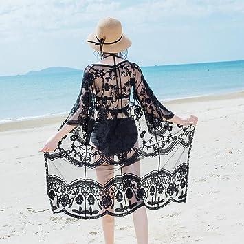 Chaqueta de encaje de moda de verano,Falda de playa bikini blusa Ropa de playa