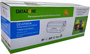Datazone cyan laser Toner CF541A Compatible for printers HP laser jet Pro M254dw/254nw/280nw/281fdw/281fdn/M154a/154nw/1840n/181fw (203A)
