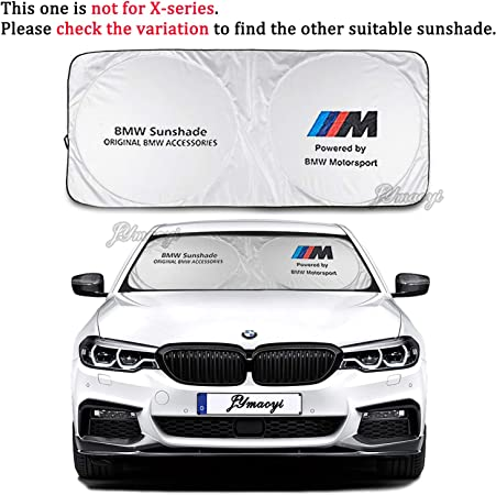 BMW Sunshade with Suction Cups Windshield