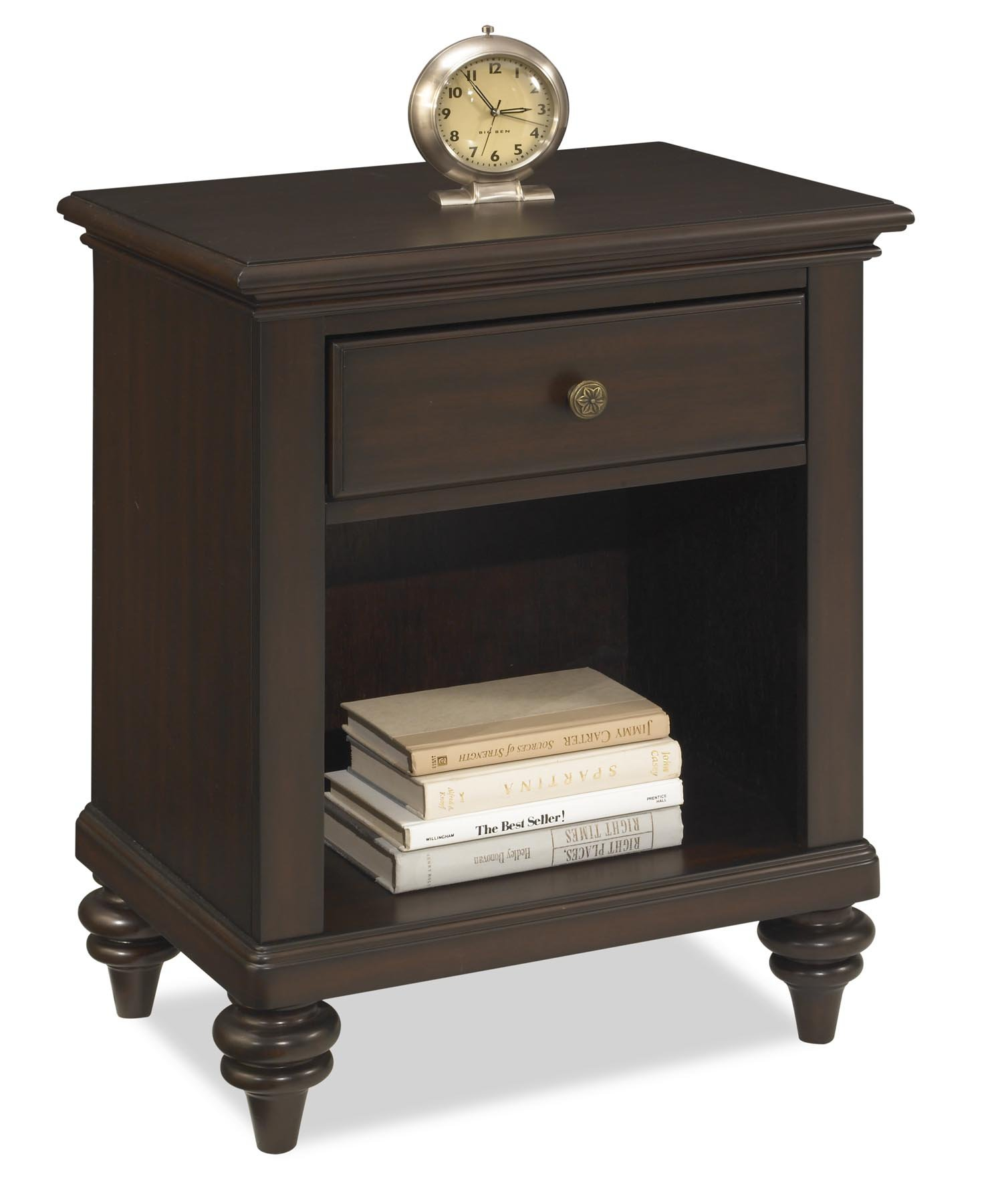 Home Styles Bermuda Night Stand, Espresso Finish