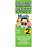 Brain Quest 2nd Grade Math Q&A Cards: 1000 Questions and Answers to Challenge the Mind. Curriculum-based! Teacher…