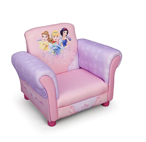 Amazon.com: Delta Disney Princess silla tapizada: Kitchen ...