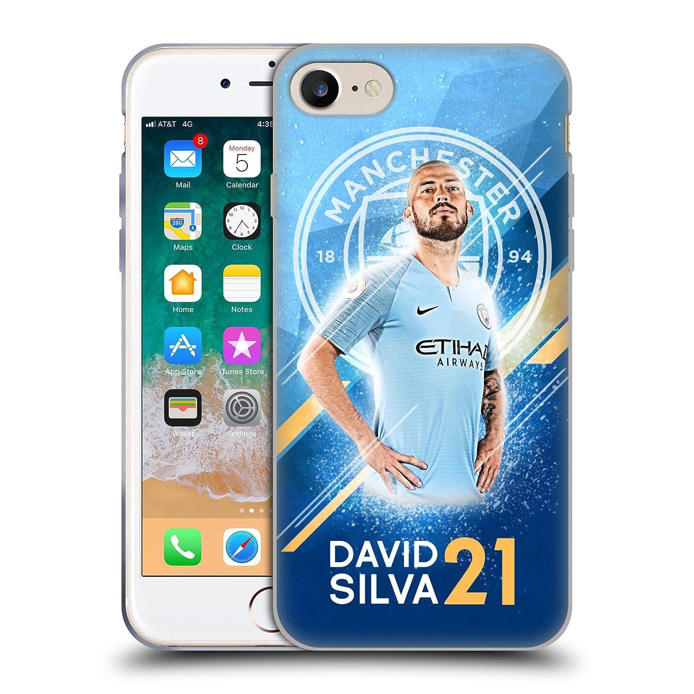 Amazon com: Official Manchester City Man City FC David Silva 2018/19