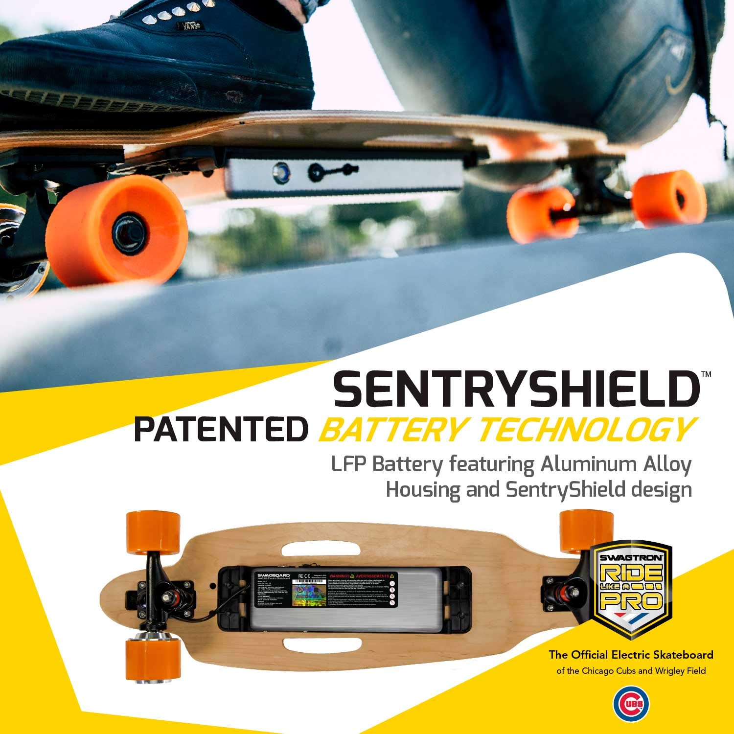amazon com : swagtron swagboard ng-1 youth electric longboard : sports &  outdoors