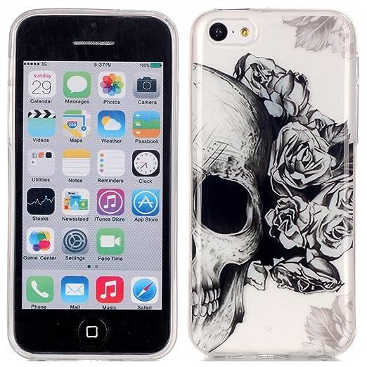 27 opinioni per Voguecase® Per Apple iPhone 5C, Custodia Silicone Morbido Flessibile TPU