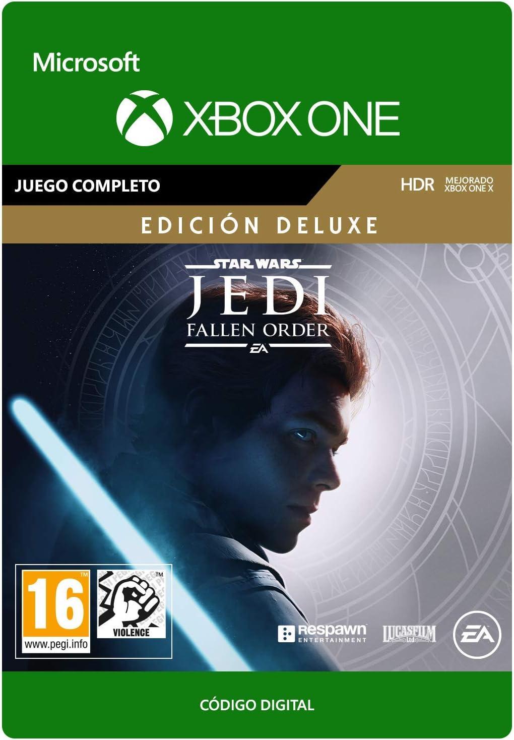 STAR WARS Jedi Fallen Order Deluxe Upgrade | Xbox One - Código de descarga: Amazon.es: Videojuegos