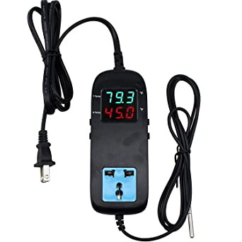 Amazon Com Termostato Digital De Control De Temperatura De Calefacción Y Refrigeración Industrial Scientific