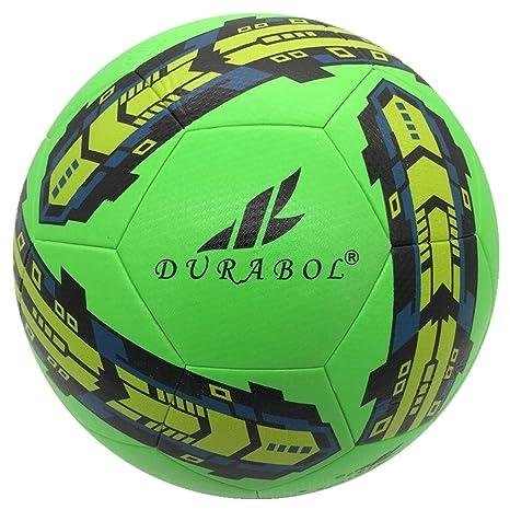 Durabol Balón de Fútbol Entrenamiento Talla 5 (VERDE 2): Amazon.es ...