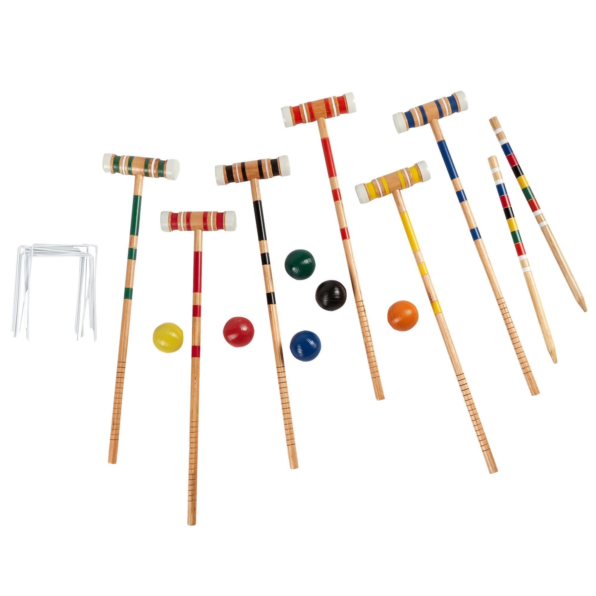 Parkside Croquet Set with Carrying Case by Parkside