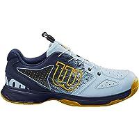 Wilson Kaos Junior Ql, Zapatillas de Tenis, para Todo Tipo de Superficie, Tenistas de Cualquier Nivel Unisex niños, EU