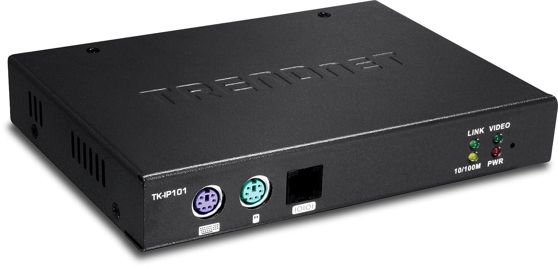 Trendnet TK-IP101 Interruptor KVM - Periférico de Entrada (USB, PS/2, USB, PS/2, VGA, 1600 x 1200 Pixeles, 0-50 °C, -20-60 °C): Amazon.es: Informática