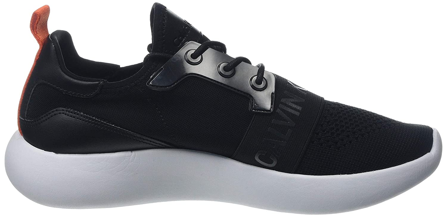 f14bdfd5b49 Calvin Klein Jeans Men's Mel Knit Ckj Logo Low-Top Sneakers | eBay