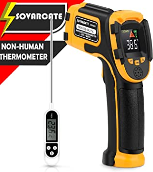 Infrared Thermometers Thermometer Color Screen Non Contact Digital Laser Gun
