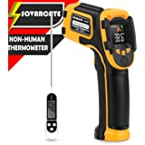 Infrared Thermometer Non-Contact Digital Laser Temperature Gun with Color Display -58℉~1112℉(-50℃~600℃) Adjustable…