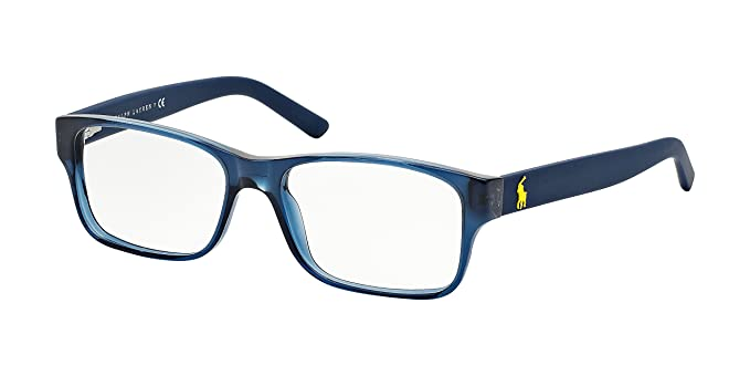 polo ph2117 eyeglass frames 5470 52 navy blue