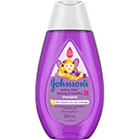 Johnson's Baby Active Kids Strong and Healthy Shampoo, 200 milliliters