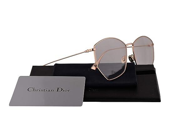 Christian Dior DiorStellaire04 Eyeglasses 58-15-145 Gold Copper w Demo  Clear Lens 08eb5c67cdd9