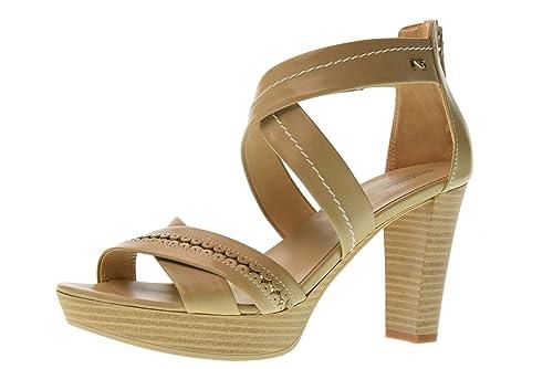 Nero Zapatos Tacón Mujer De Alto Giardini Sandalias P805610d410 yv6gbmIYf7