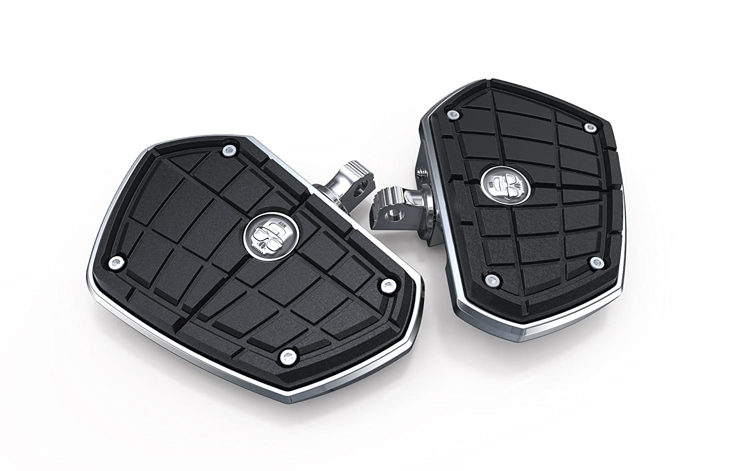 chrome for Harley Davidson motorcycles ASR Floorboards by Ciro