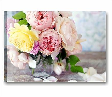 Quadri L&C ITALIA - Rose vintage 8 - Quadro moderno su tela 70x50 ...