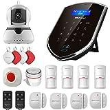 Sistema de alarma inteligente para el hogar con cámara de Wolf-Guard WM2GR, sensor